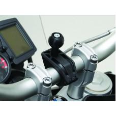 """Universele klem kit SW-Motech, GPS bal voor 22 mm/28 mm/1"""" stuur"""