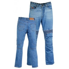 Kevlar jeans washed blue
